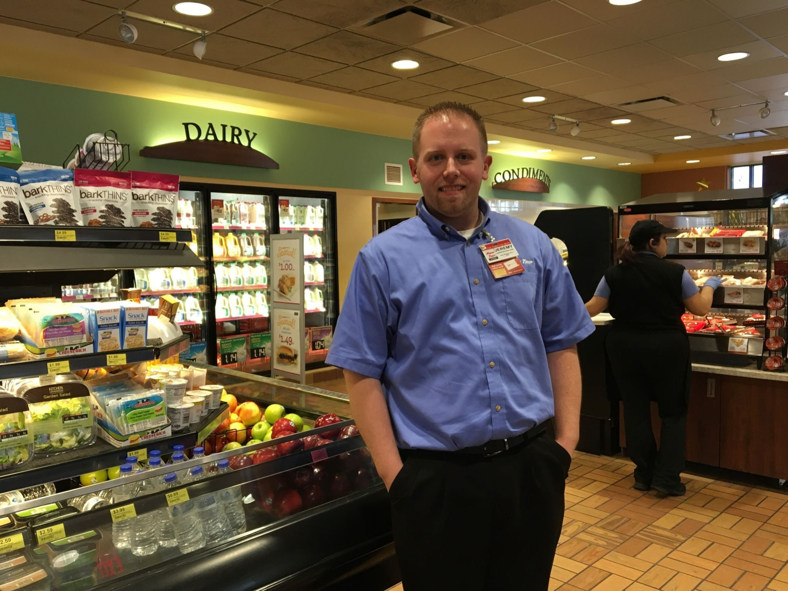 Store Manager Jeremy B.