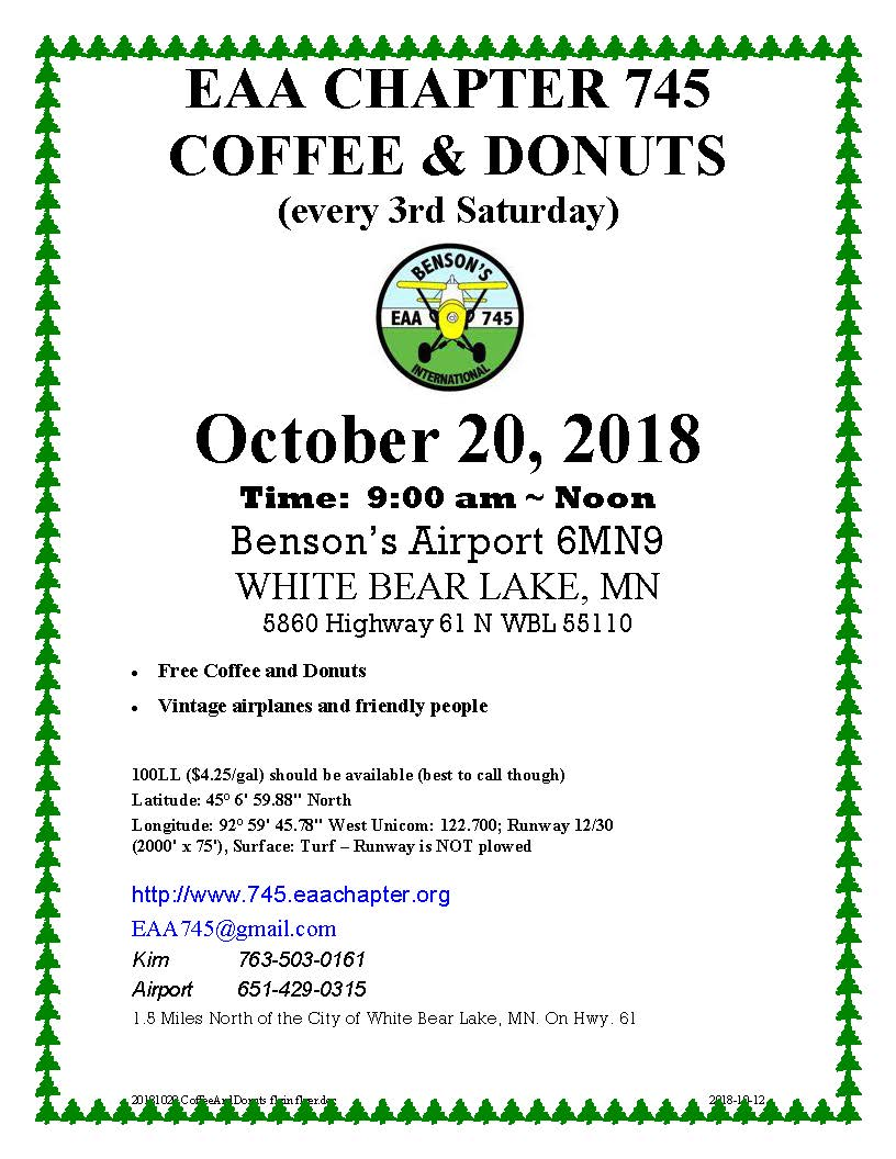 20181020 CoffeeAndDonuts flyin flyer picture