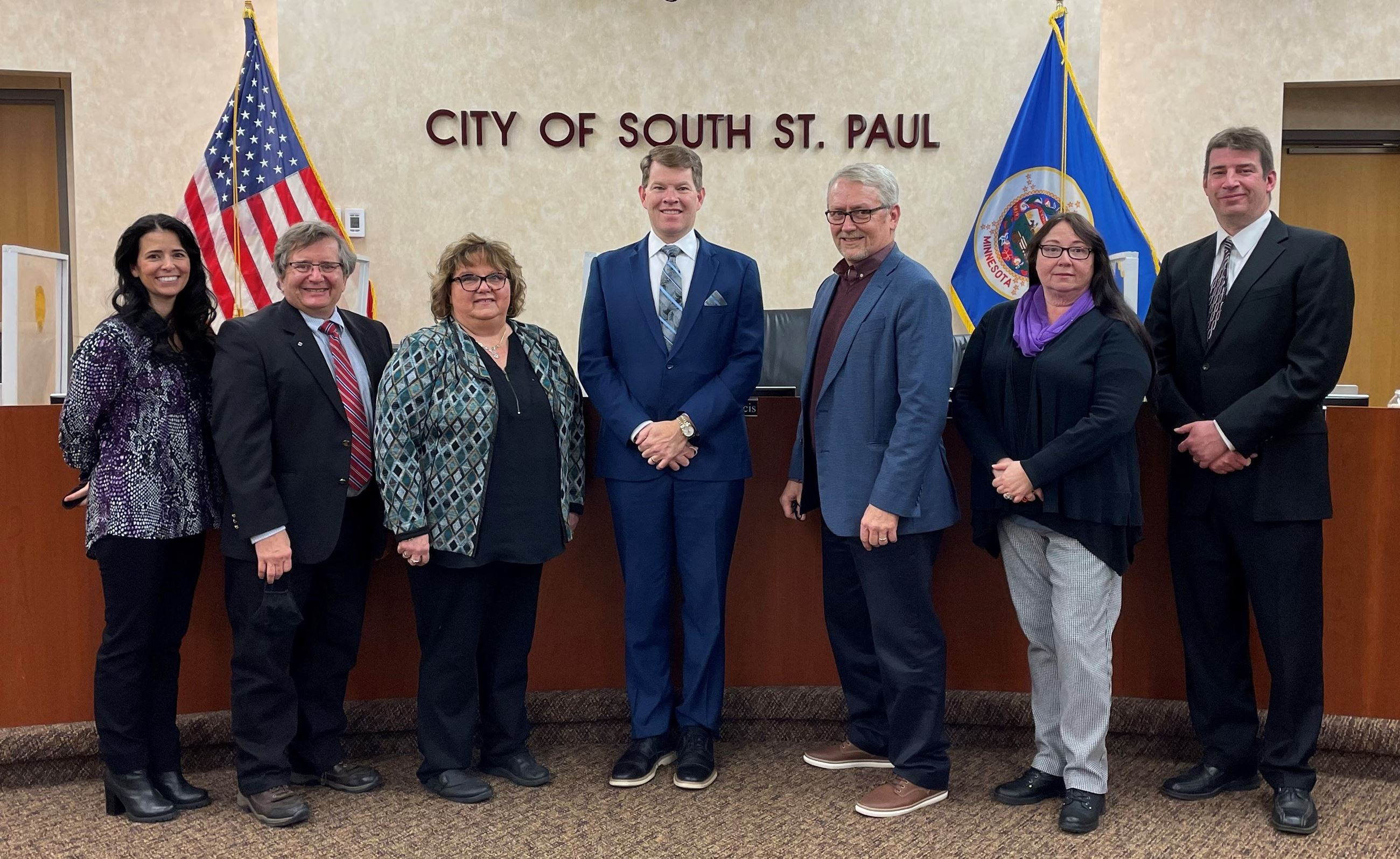Image of the 2021 South St. Paul City Council Members