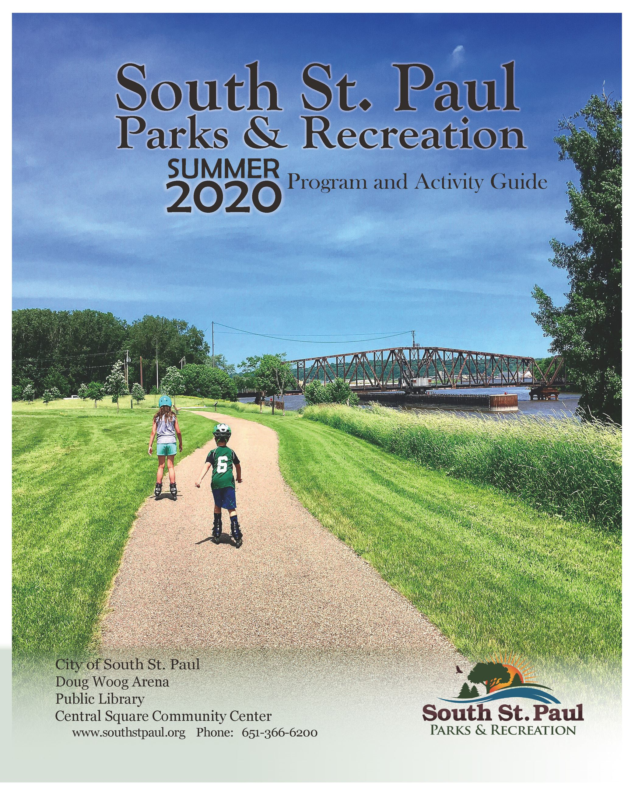 South St. Paul Summer 2020 Brochure Cover Opens in new window