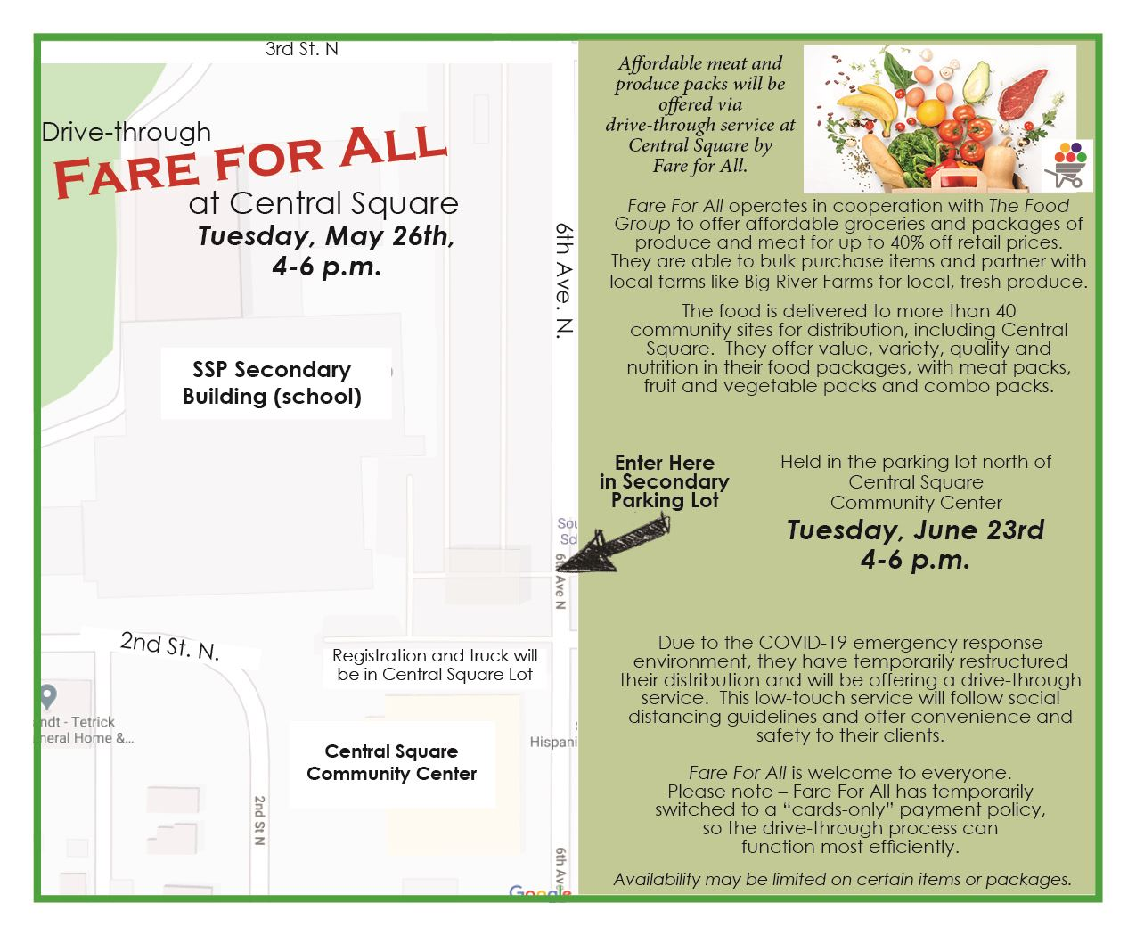 Fare for All June 23, 2020