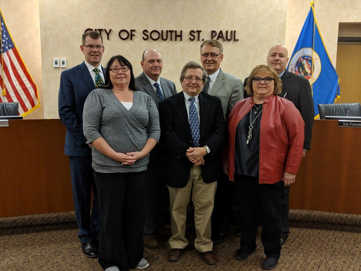 Image of the 2019 City Council Members